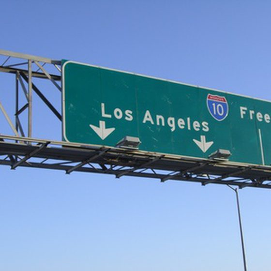 LA Hwy Sign